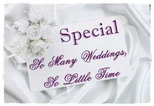 SPRING WEDDING SPECIAL!