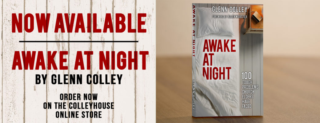 New Book: Awake At Night