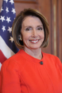 House Speaker Nancy Pelosi of California on January 23, 3009 in the United States Capitol. (Lauren Victoria Burke)