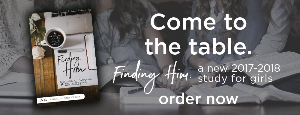 NEW: Finding Him